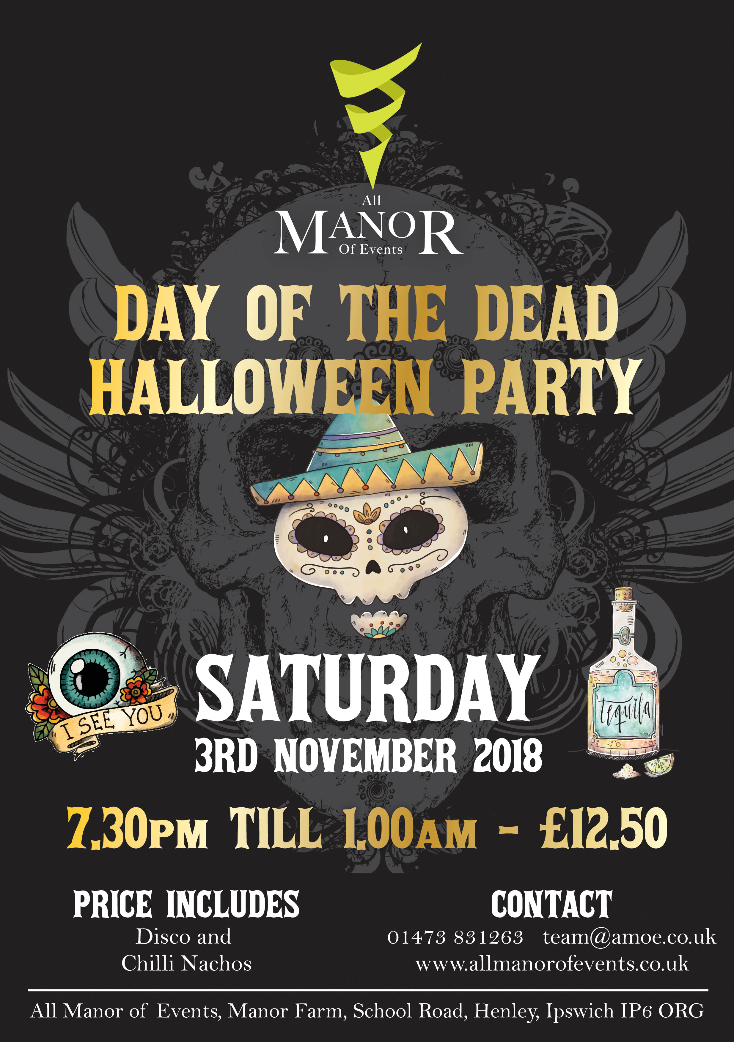 Day of the dead flyer